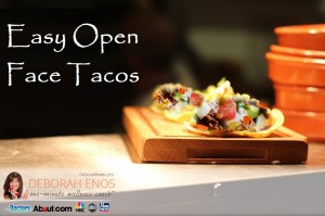 Easy Open Face Tacos Recipe