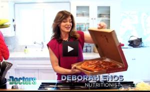 Deborah Enos The Doctors Chicago Style DeepDish Pizza