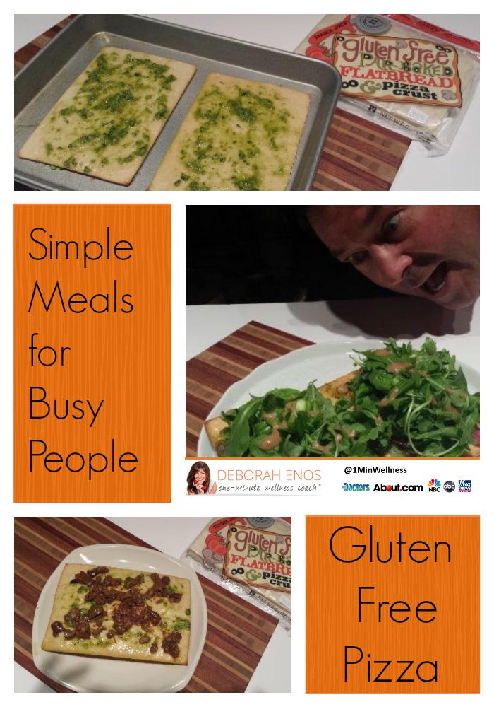 Deborah Enos Gluten Free Pizza Recipe