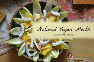 National Vegan Month recipes and more from deborah enos