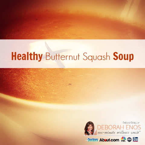 Healthy Butternut Squash Soup Recipe