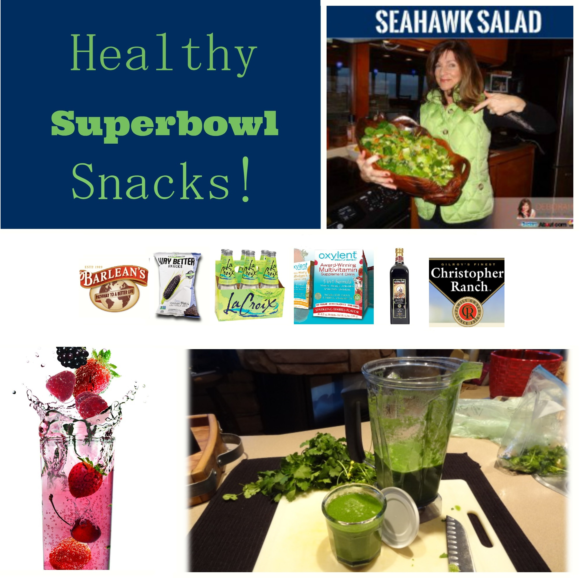 Healthy Superbowl Snacks