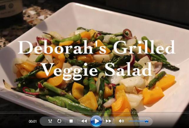 Deborah's Famous Grilled Veggie Salad